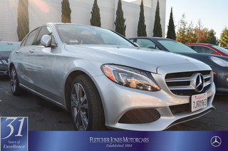 Pre-Owned 2015 Mercedes-Benz C-Class 4dr Sdn C300 4MATIC All Wheel Drive Sedan