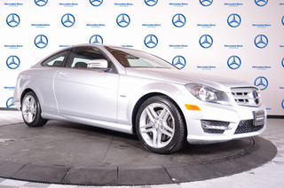 Pre-Owned 2012 Mercedes-Benz C-Class C350 Rear Wheel Drive Coupe